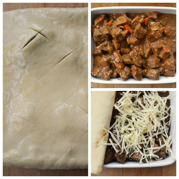 Guinness pie Collage 2