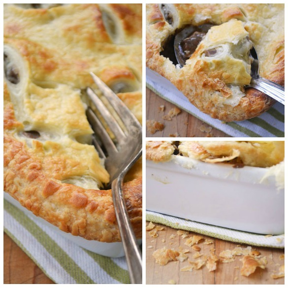 Guinness pie Collage