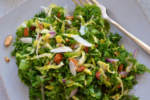 Kale & Brussels Sprout Salad 2