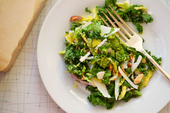 Kale & Brussels Sprout Salad 4