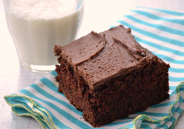 Chocolate Barley Cake