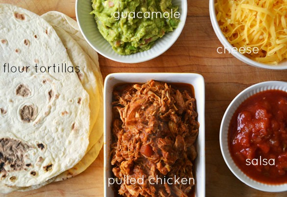 pulled chicken tacos 1