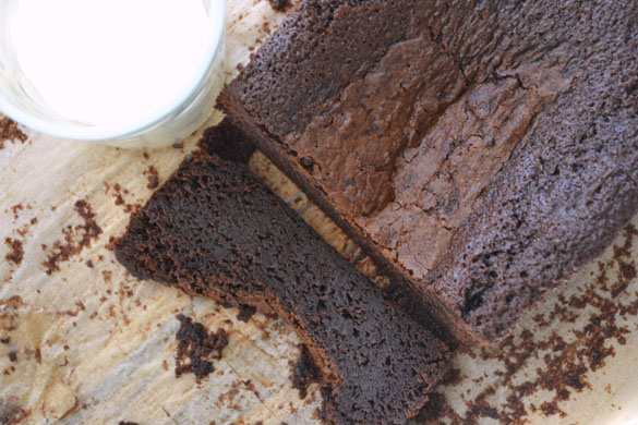 Damp chocolate cake 1
