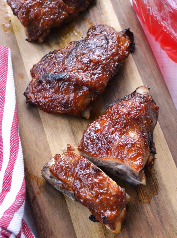 Rhubarb Barbecue Sauce 1
