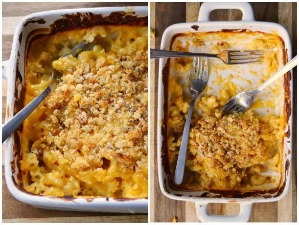 kids mac & cheese Collage