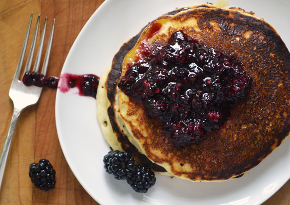 marionberry pancakes 1