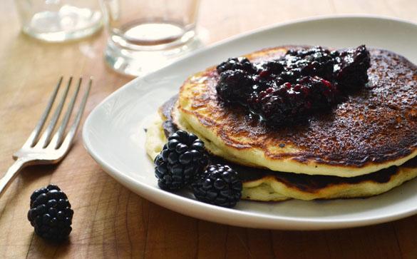 marionberry pancakes 3