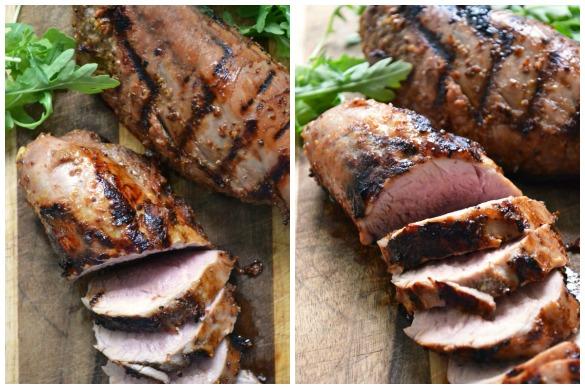 Bourbon pork tenderloin Collage