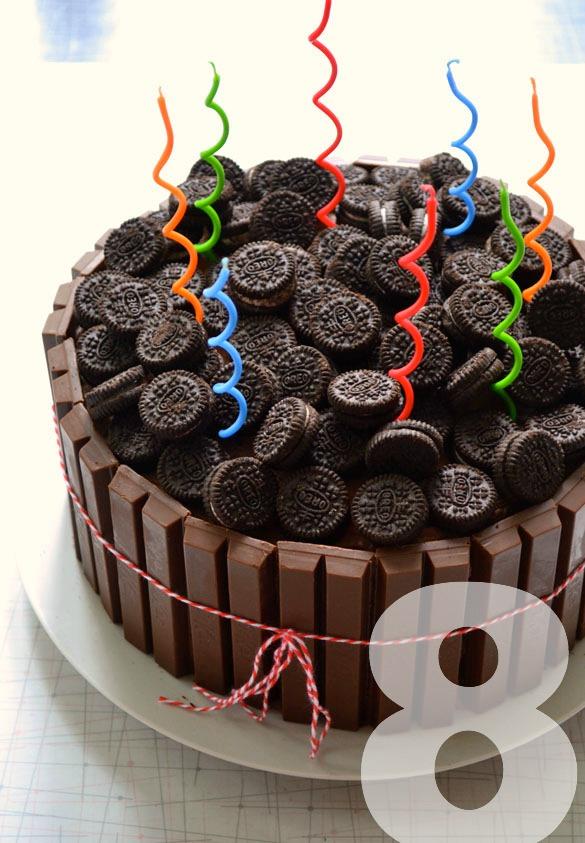 KitKat Oreo Cake 1