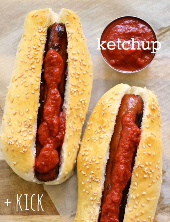 Sriracha Ketchup text