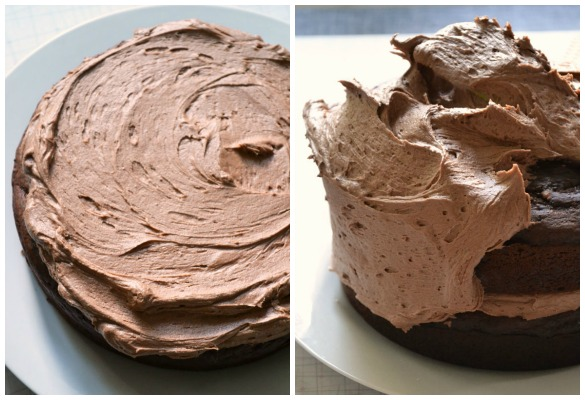 kitkat cake Collage