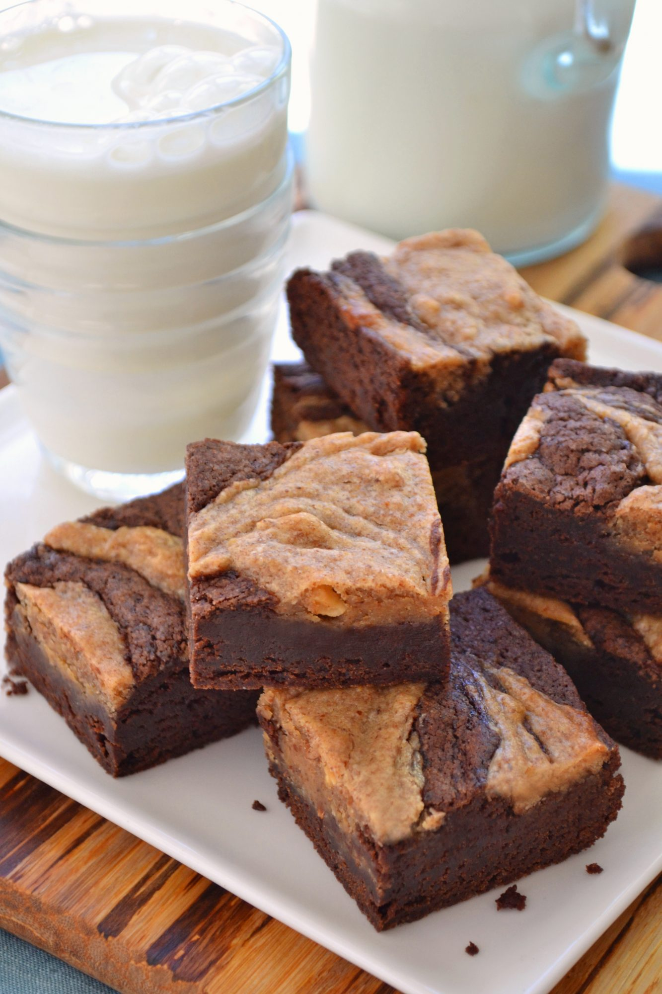Almond Cheesecake Brownies 3