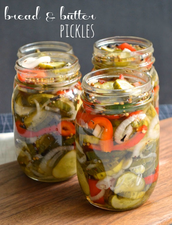 Bread & Butter Pickles text