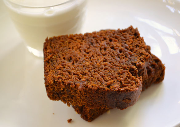 roasted sweet potato gingerbread 2