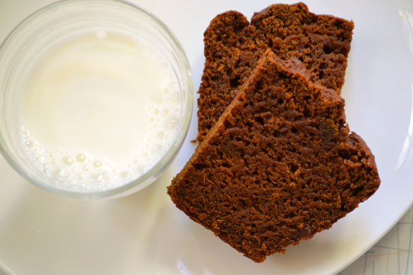 roasted sweet potato gingerbread
