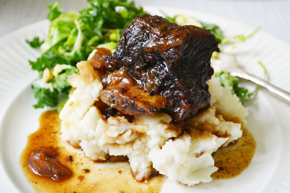 Braised Bison Short Ribs 1