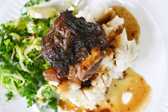 Braised Bison Short Ribs 2