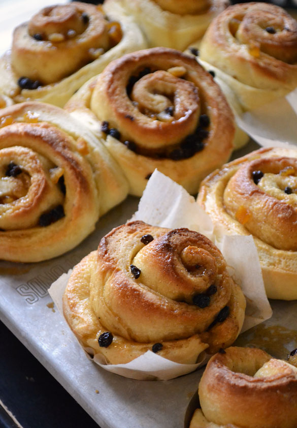 Chelsea Buns - Dinner With Julie
