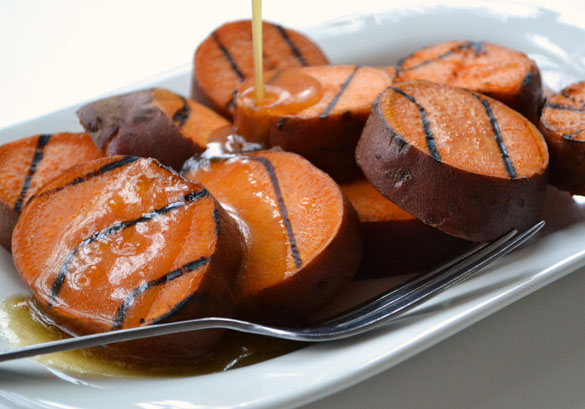 Grilled Sweet Potatoes 1