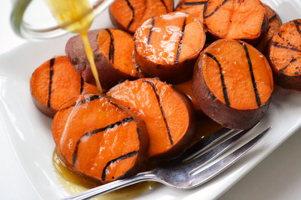 Grilled Sweet Potatoes 2