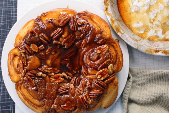 Cinnamon buns 1