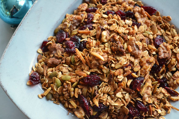 Gingerbread granola 2