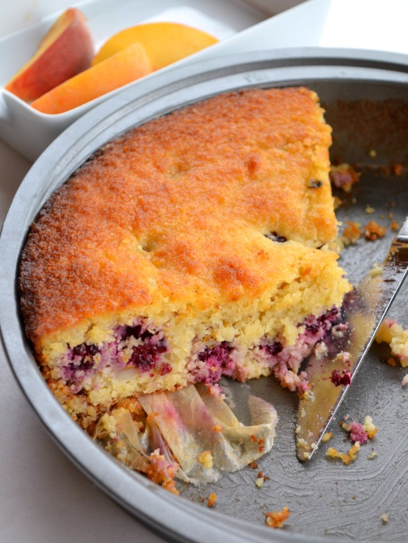 Grain-free!) Blackberry-Lemon Cake - Dinner With Julie