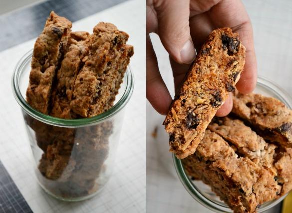 Kidney bean biscotti Collage