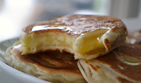 apple fritter pancakes 2