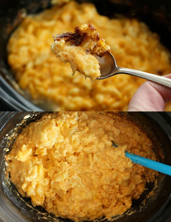 slow cooker mac collage 2
