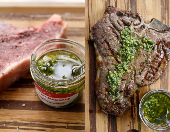 Gremolata steak Collage 1