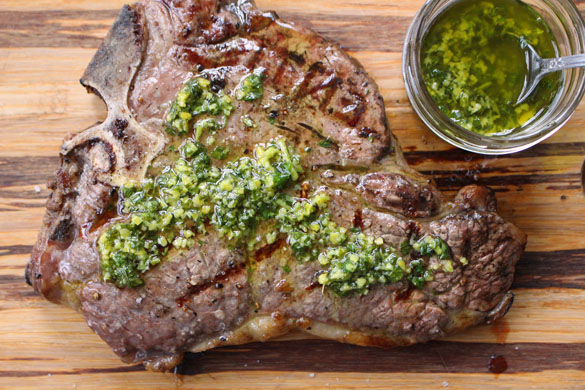 Steak with gremolata 1