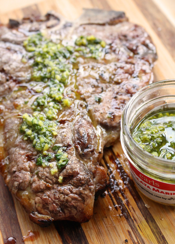 Steak with gremolata 3