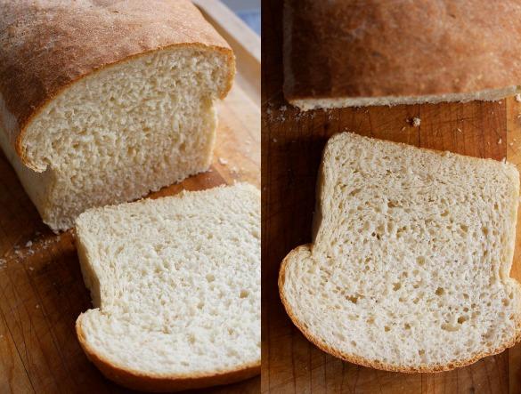 white bean white bread Collage