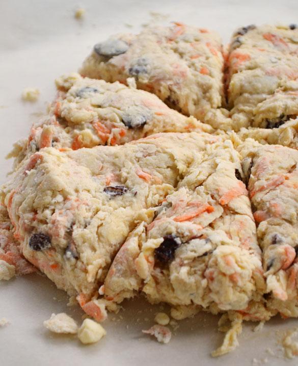 Carrot scones 5