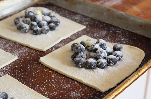 blueberry galettes 5