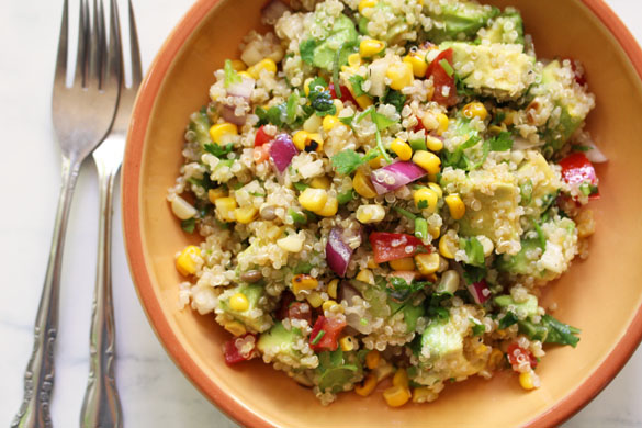 corn quinoa salad 1