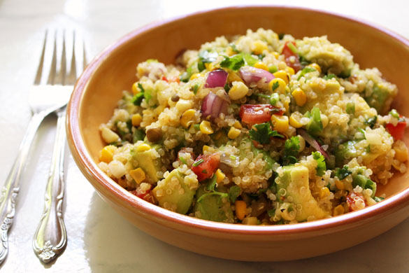 corn quinoa salad 2