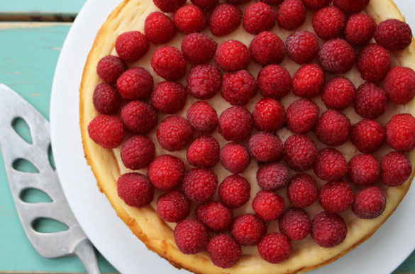 raspberry cheesecake 1