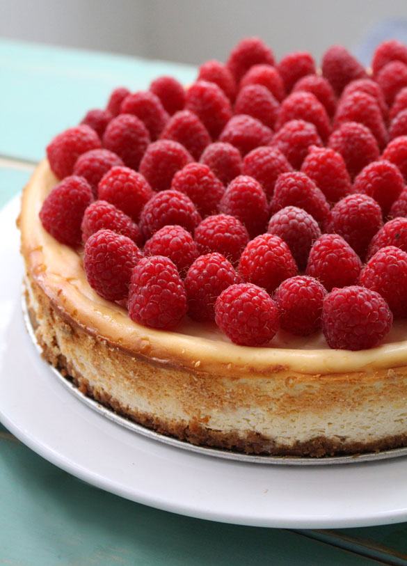 raspberry cheesecake 2