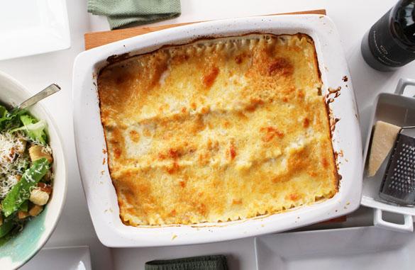Seafood Lasagna 1 small