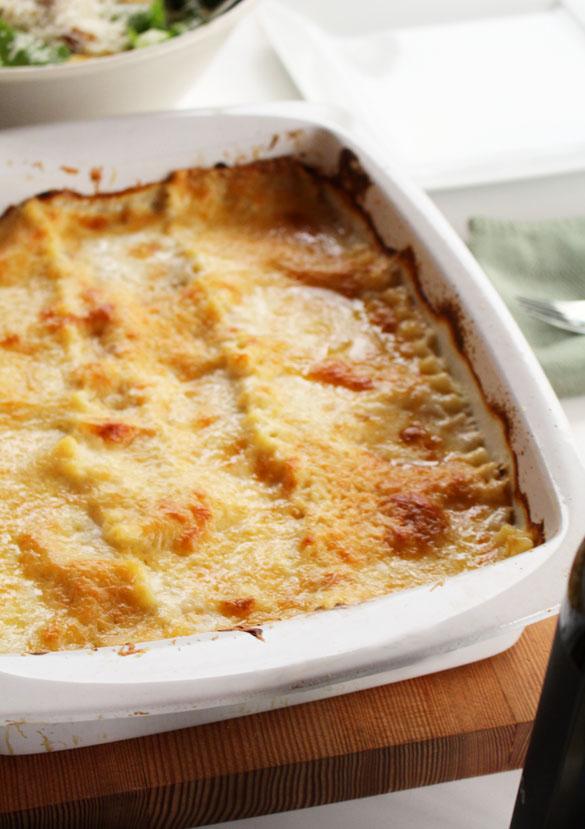 Seafood Lasagna 2 small
