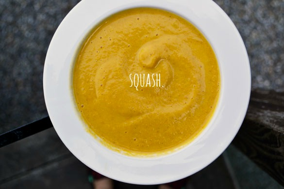 Maple Roasted Butternut Squash Soup - Dinner With Julie