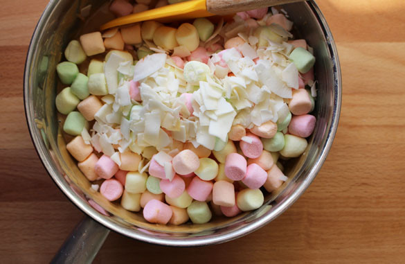 peanut butter marshmallow squares 2