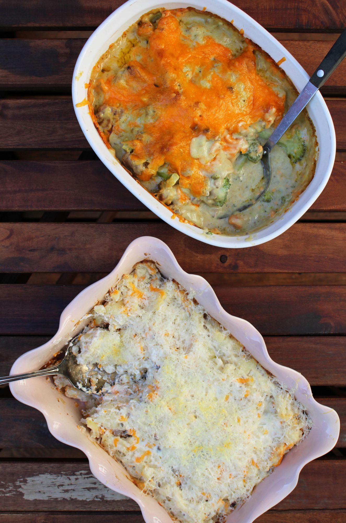 Classy chicken & Schwartie's potatoes 1