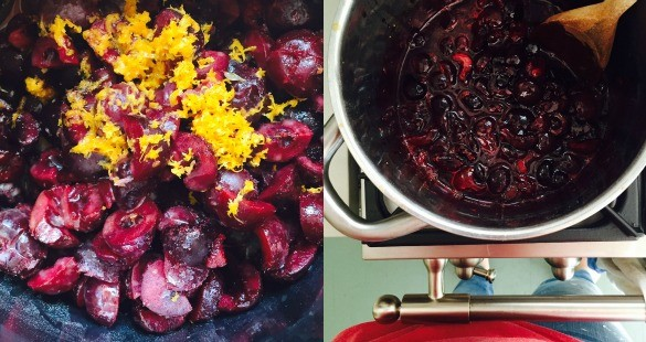 cherry jam 1