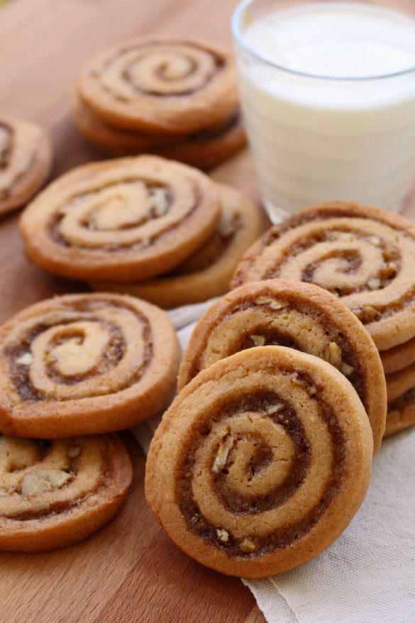 cinnamon bun crunch icebox cookies 6