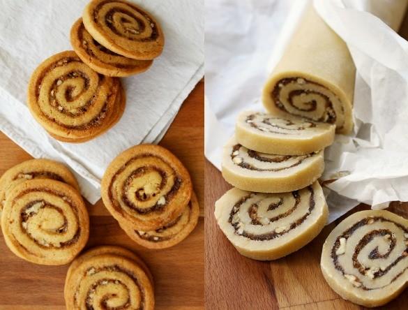 cinnamon bun crunch icebox cookies 7
