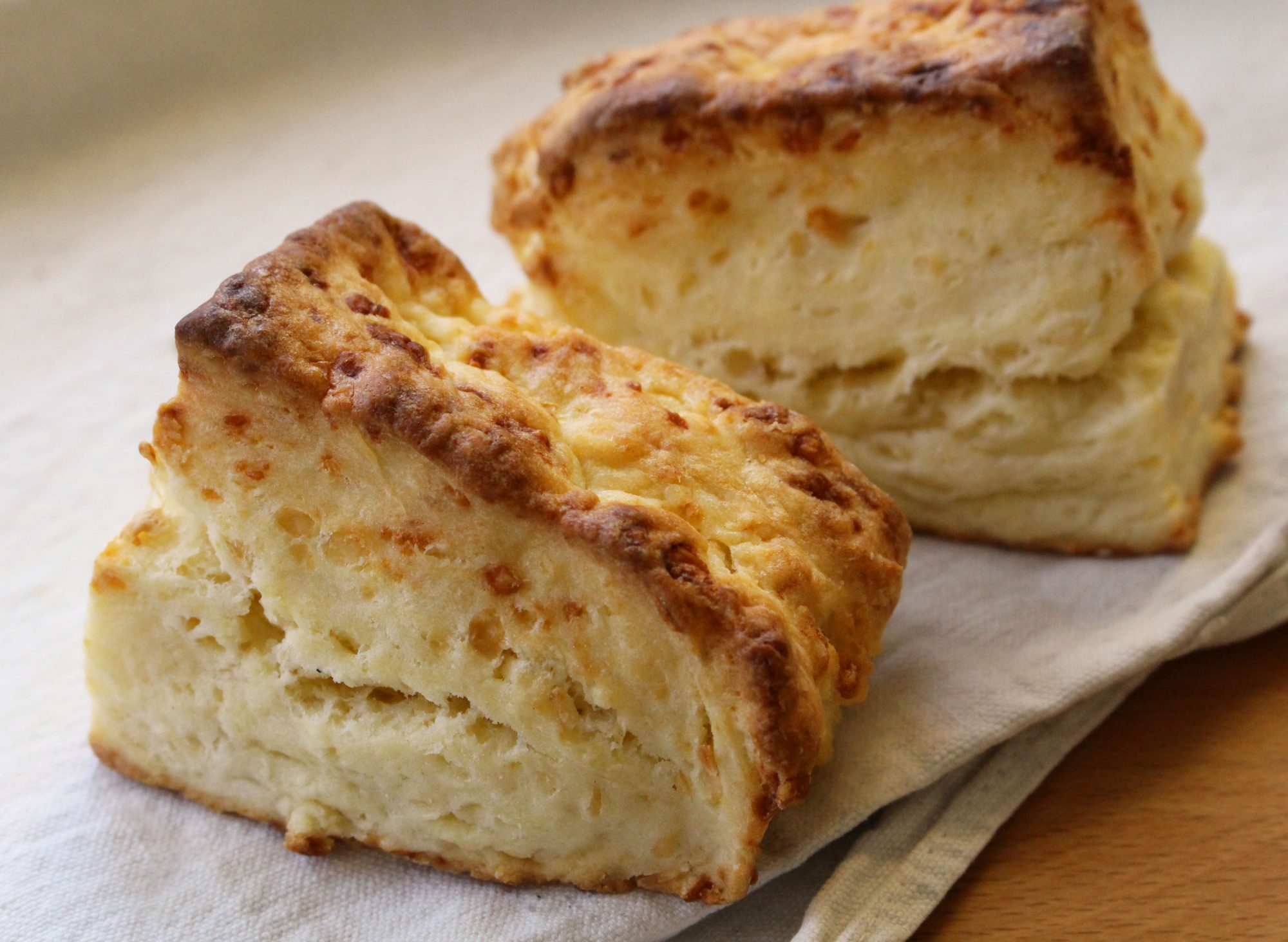 Cheesy Cream Biscuits - Dinner With Julie