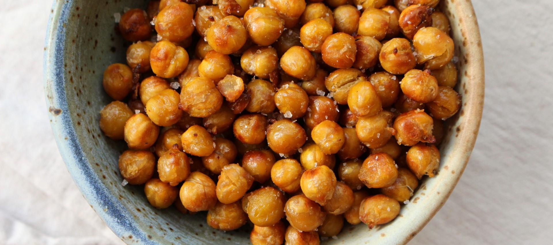 Miso roasted chickpeas 1